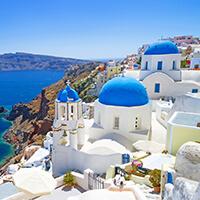 愛琴海的樂園—希臘・聖托里尼島
